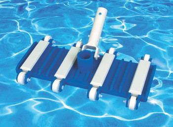 Flexi-Wheeled Swimming Pool Universal Vacuum Head