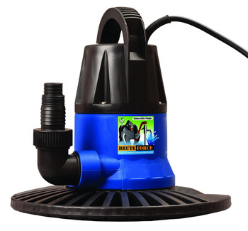 Brute Force 1250 GPH Submersible Cover Pump