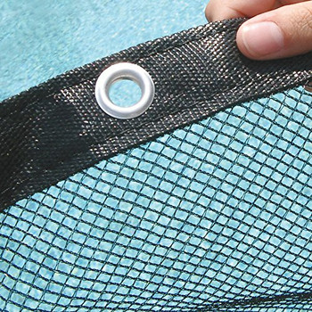 Premium Leaf Net Pool Cover - Round, Oval & Rectangle