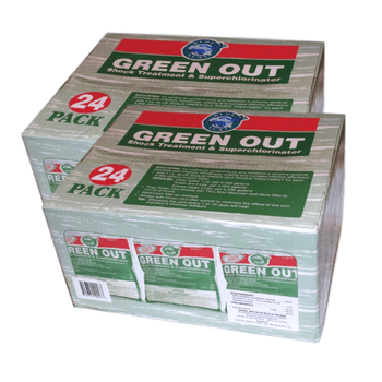 48 Pk Green Out Premium Pool Shock 48 - 1 Lb Bags