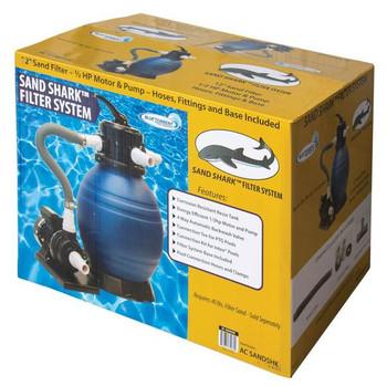 Sand Shark Complete Pool Sand Filter System