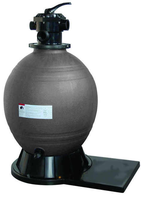 """Mega Clean Swimming Pool Sand Filter With 6 Way Valvue and Universal Base 12"""" 18"""" and 22"""""""