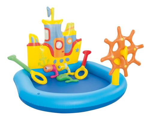 """55"""" x 51"""" Tugboat Play Pool"""