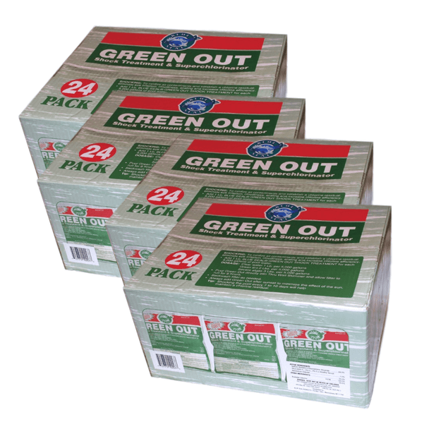 96 Pk Green Out Premium Pool Shock 96 - 1 Lb Bags