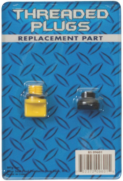 """Universal 1/4"""" Drain Plug Replacement With O-Ring  for Pumps or Filters"""