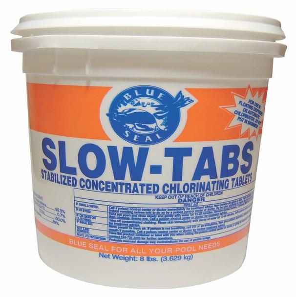 "1"" Slow Tab Chlorine  8 lb Bucket"