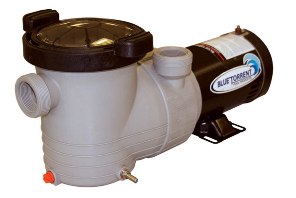Blue Torrent 1.5 HP HURRICANE-D Bondmaster Above Ground Swimming Pool Pump