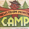 News From Camp Postcard