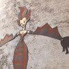 Wall Monster Bat Witch Kit