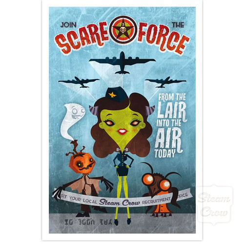 Scare Force Recruitment Print