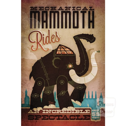 Mechanical Mammoth Rides
