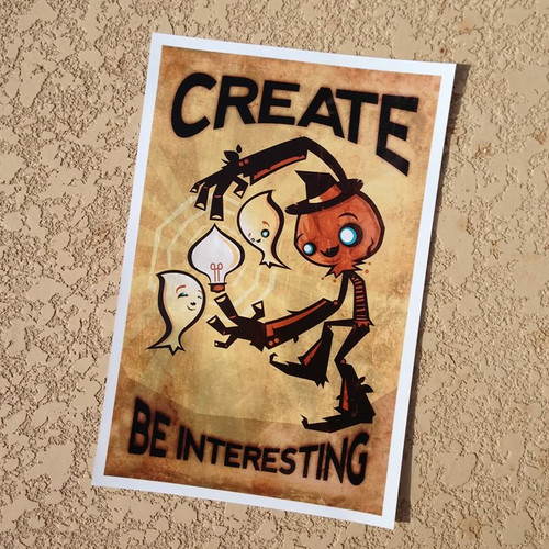 Create Be Interesting