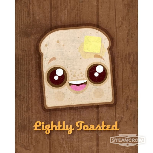 Lightly Toasted 8x10