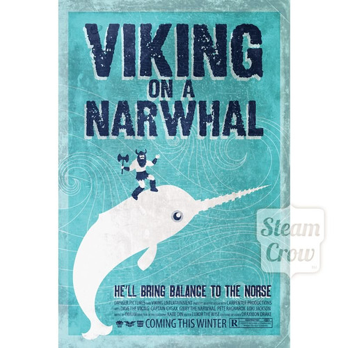 Viking on a Narwhal