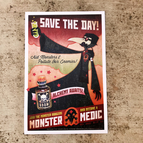 Join the Monster Medics Print