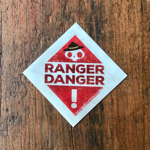 Ranger Danger Sticker 5 Pack