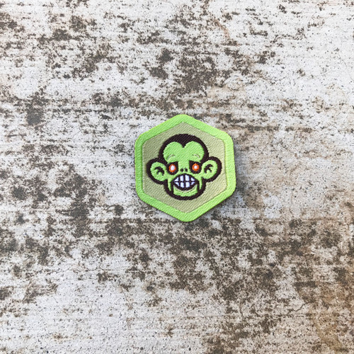 Zombie Puppet Badge