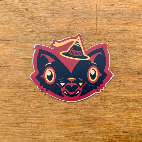 Treat Cat Sticker