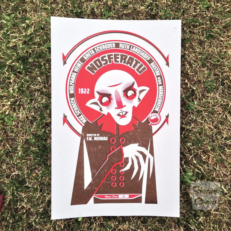Nosferatu Screenprint