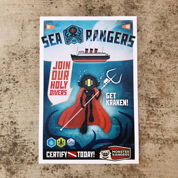 Join the Sea Rangers Print