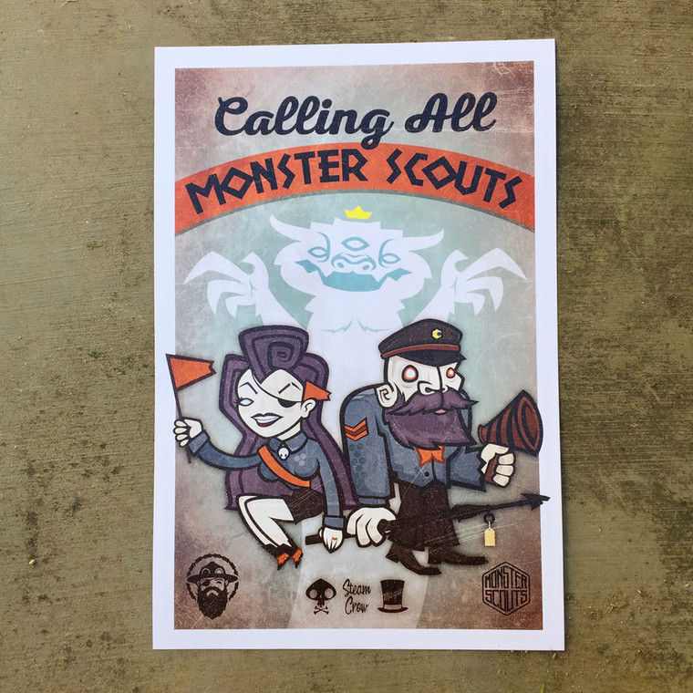 Calling All Monster Scouts Print
