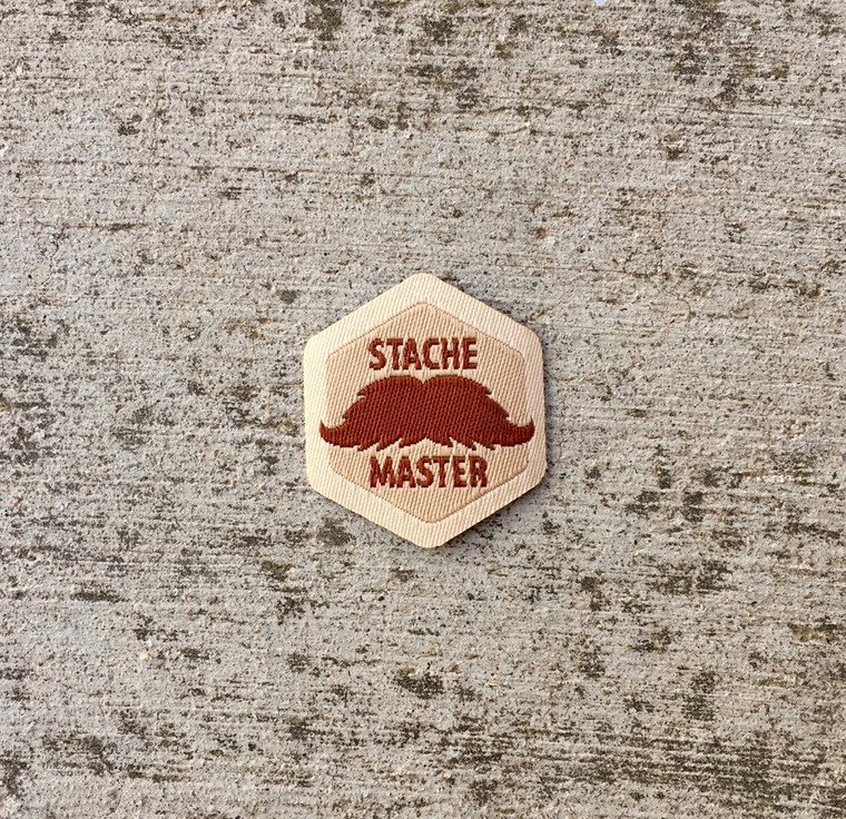 Stache Master Spirit Badge
