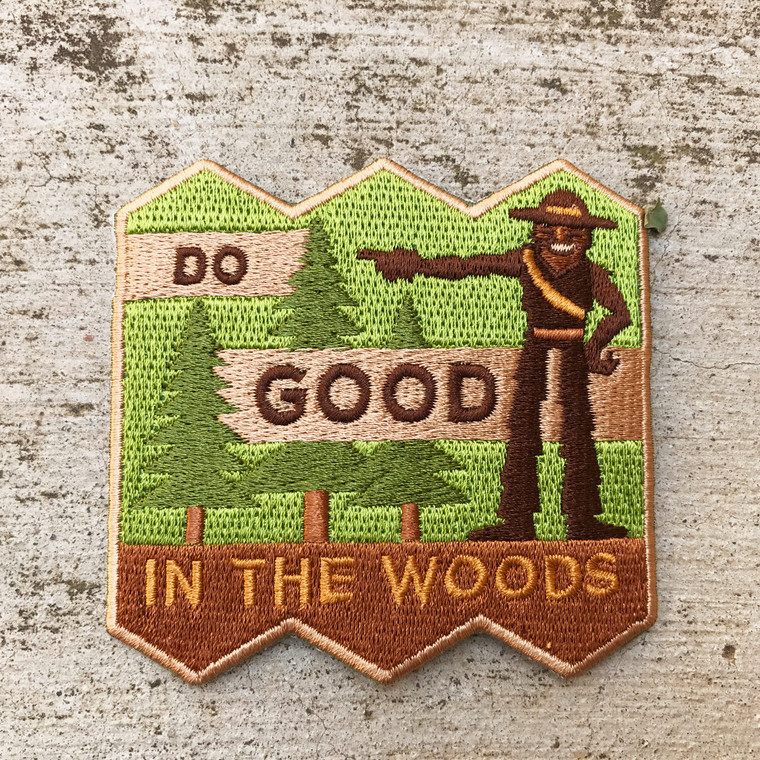Do Good In The Woods Patch