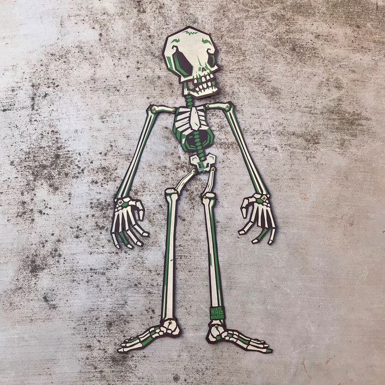 Wall Monster Skeleton Kit