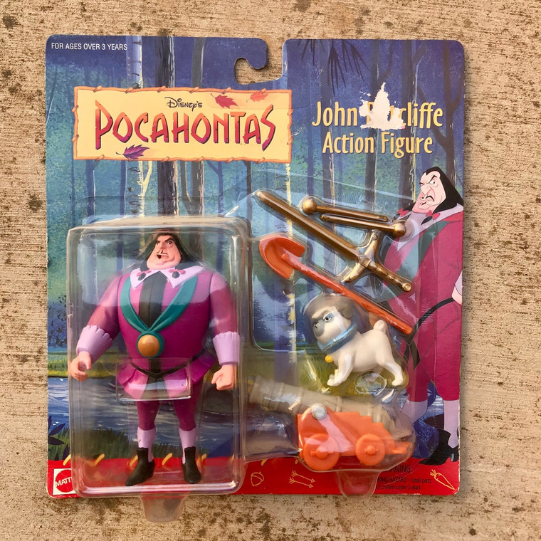Pocahontas Governor John Ratcliffe Toy