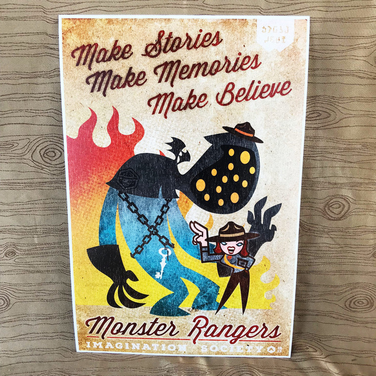 Monster Rangers Make Print