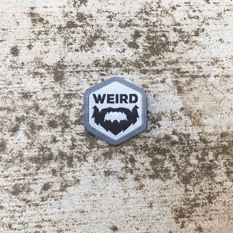 Weird Beard Spirit Badge