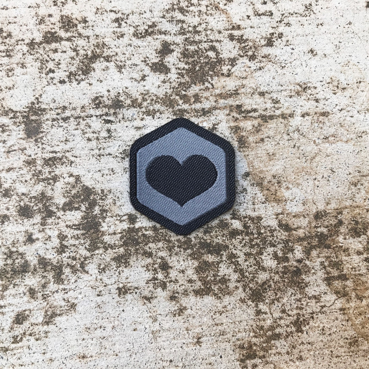 Black Heart Spirit Badge