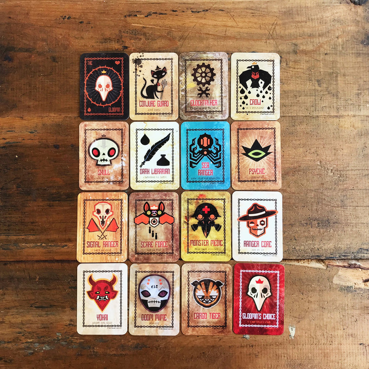 Gloomin Deck of Cards