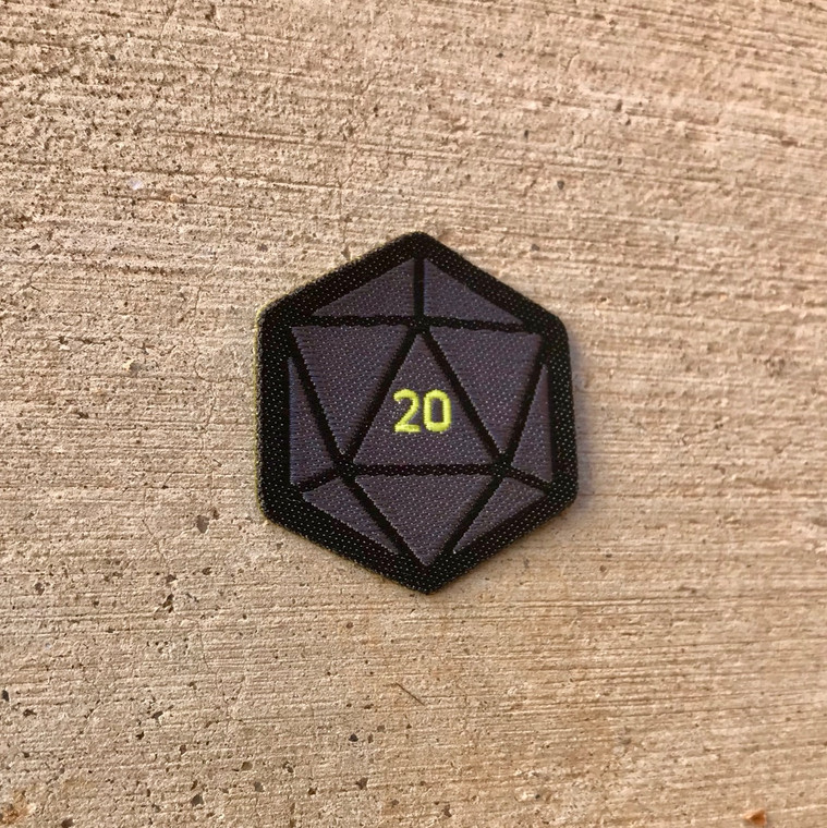 D20 Spirit Badge