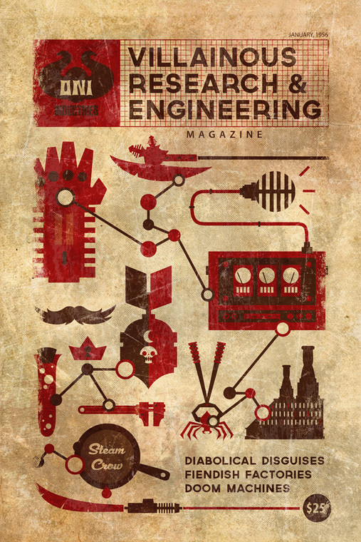 Villainous Research and Engineering.