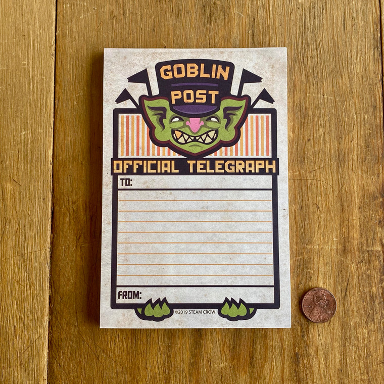 Goblin Post Notepad