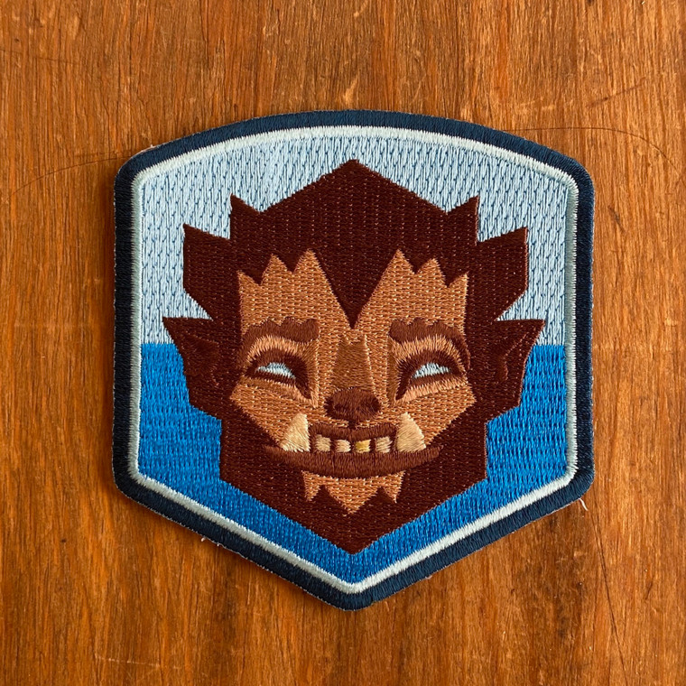 Werewolf Crest Patch