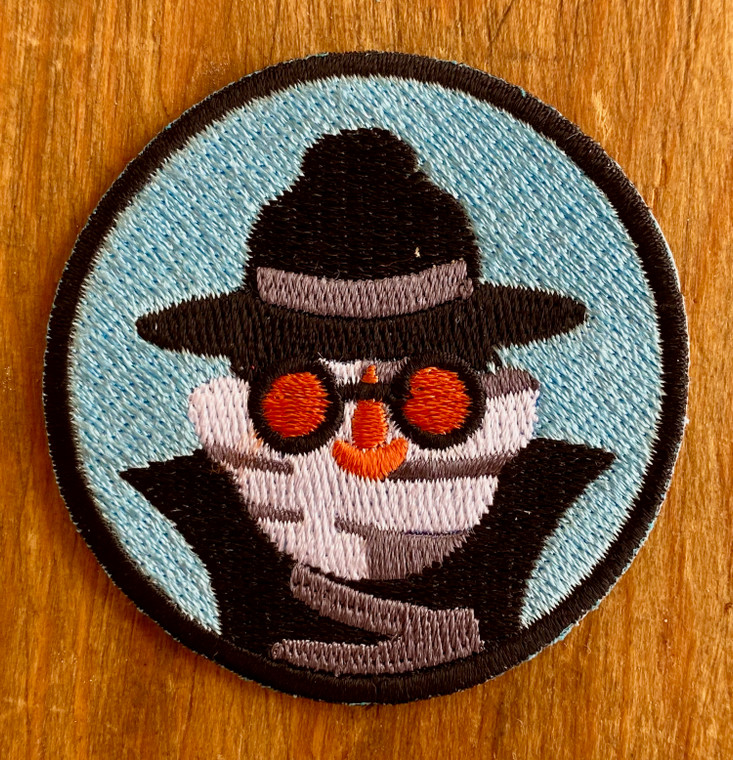 Invisible Man Merit Patch