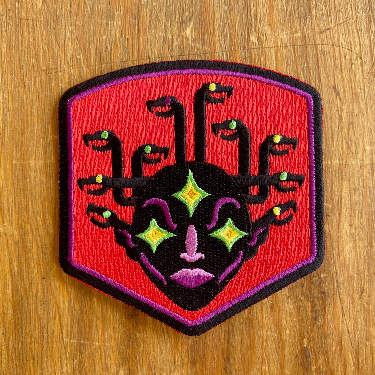 Medusa Crest Patch