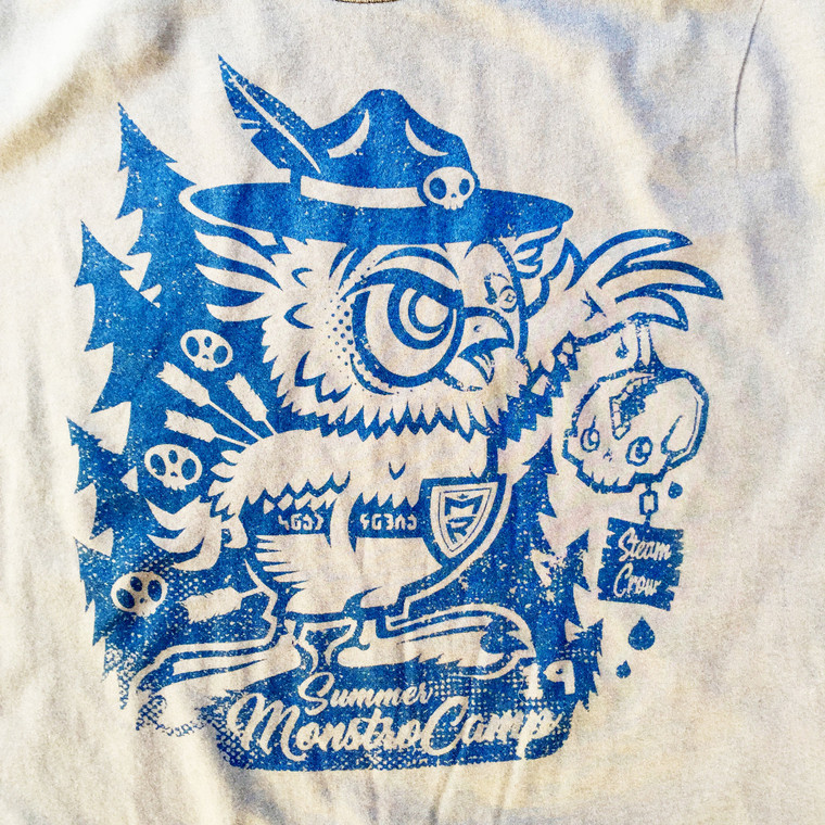 Woodzo the Owlbear Camp Shirt