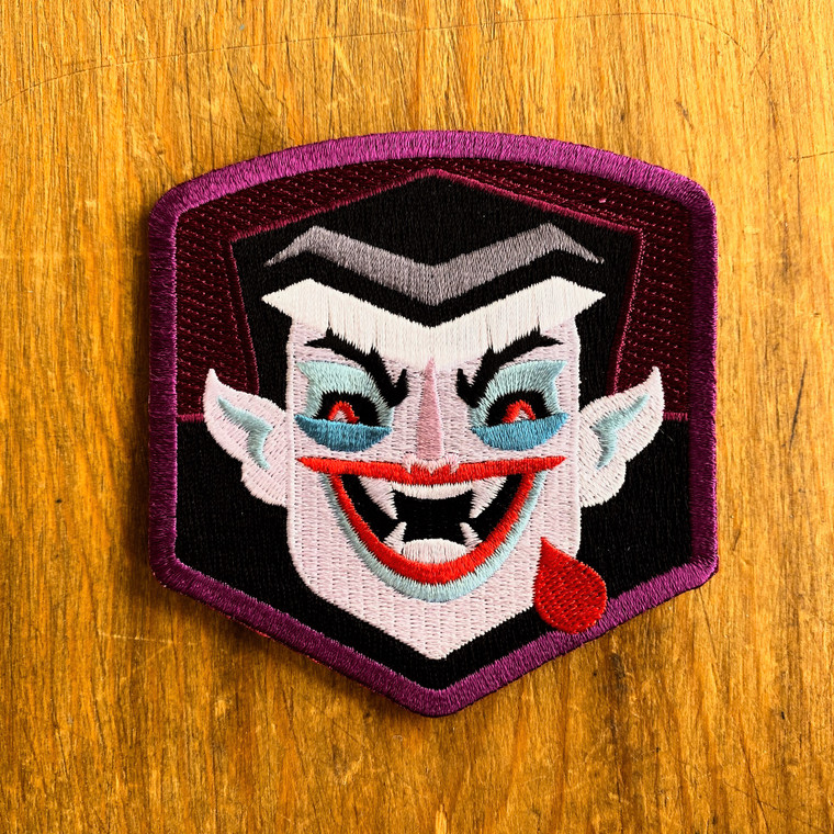 The Count Crest Patch