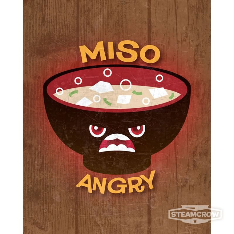 Miso Angry 8x10