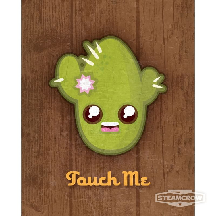 Touch Me Cactus 8x10