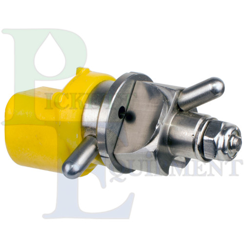 CP-09-3E Poly Straight Stream Nozzle with SS Selector/Deflector