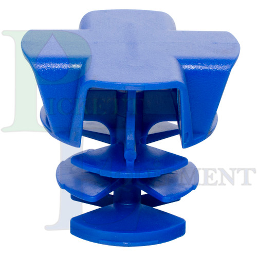"""Blue snap-in vent for 16"""" lid (63485)"""
