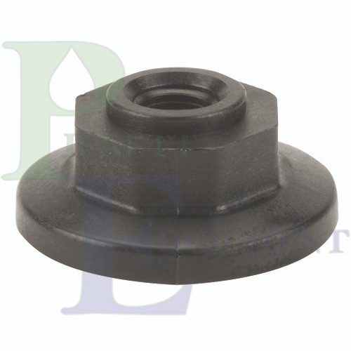 """1"""" Flange Plug With ¼"""" Fpt"""