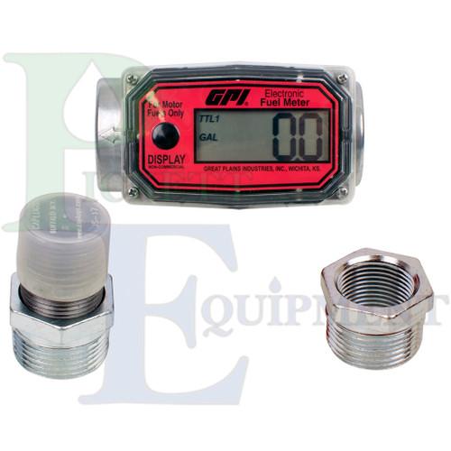 """1"""" Digital Fuel Meter (Display in Gallons)"""