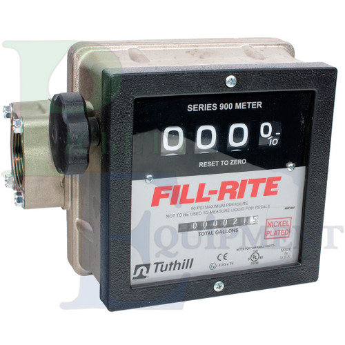"""1-1/2"""" Analog Water and Chemical Meter"""