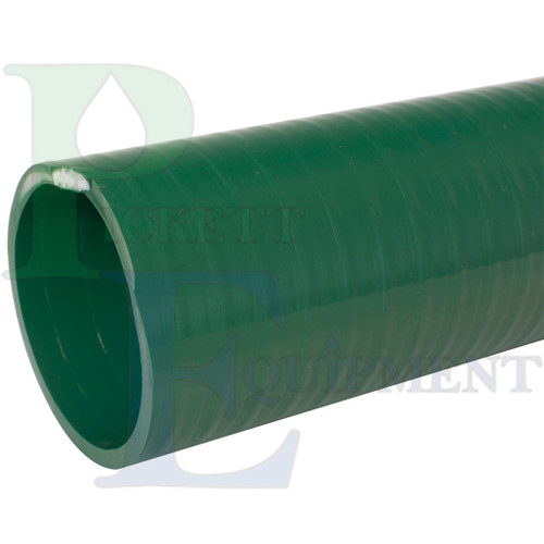 """1-1/2"""" PVC Suction/Discharge Hose, Solid Green"""