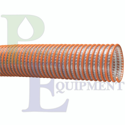 """1-1/2"""" ID Heavy Duty PVC Fabric Reinforced Suction & Discharge Hose"""